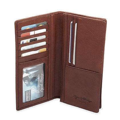 Osgoode Marley - RFID Checkbook Wallet with Pocket