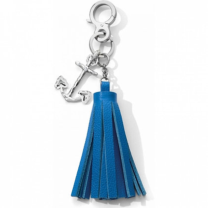 Brighton - Indigo Blue Anchor Charm Tassel