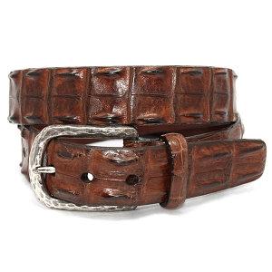 Torino - Genuine Hornback Crocodile Belt