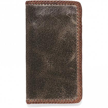 Brighton - Laced Edge Vintage Checkbook Wallet