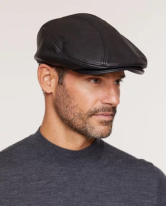 Stetson - Oily Timber Leather Ivy Cap