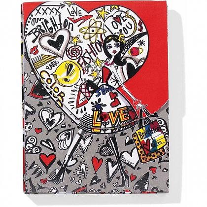 Brighton - Fashionista Graffiti Pocket Notepad