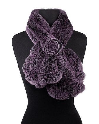Chosen Furs - Knitted Rex Fur Scarf