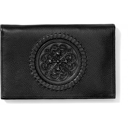 Brighton - Ferrara Folio Wallet Black