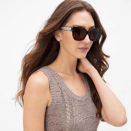 Brighton - Toledo Lattice Tort Sunglasses