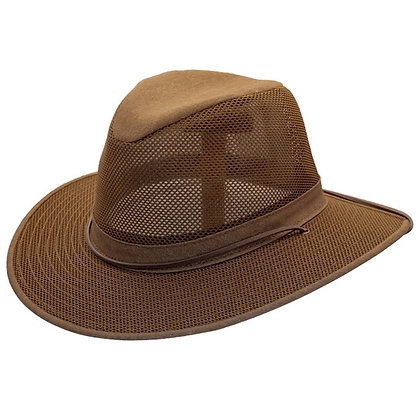 Henschel Hats -  Crushable Safari Hat with Chin Strap
