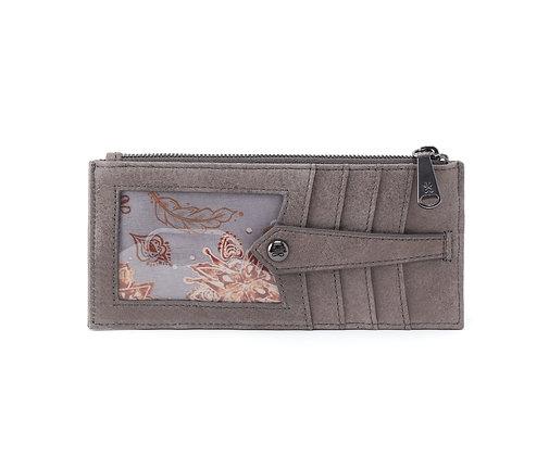 Hobo - Linn Credit Card Wallet in Titanium