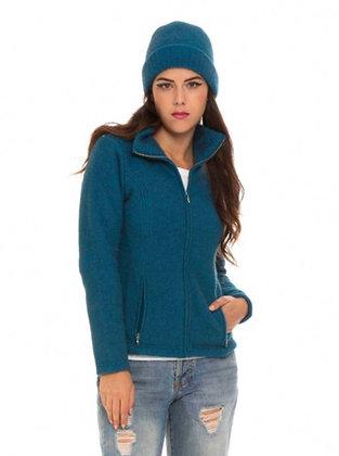 Koru - Fur Blend Shaped Zip Jacket
