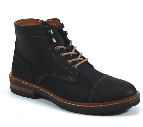 Testosterone - The Track Star Suede Logger Style Boot