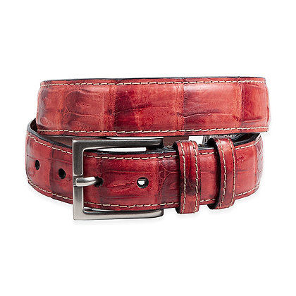 Torino -  Vintage Caiman Croc Tail Belt