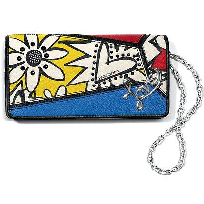 Brighton - Crazy Love Bright Rockmore Wallet
