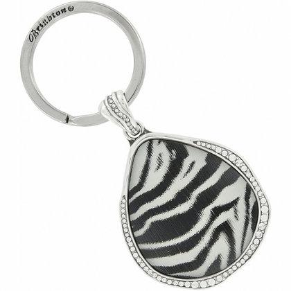 Brighton - Zebra Trinity Key Fob