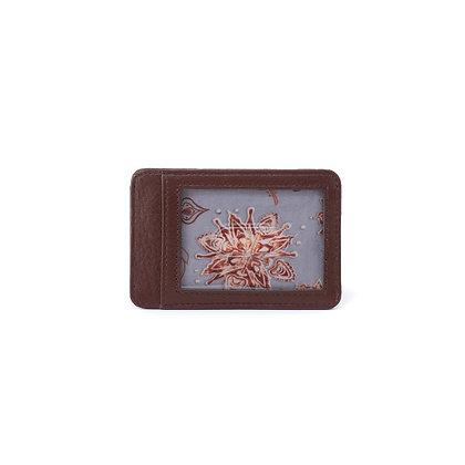 Hobo - Works Card Case in Velvet Leather