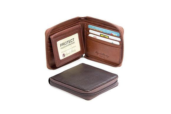 Osgoode Marley - RFID Zipper Passcase Wallet