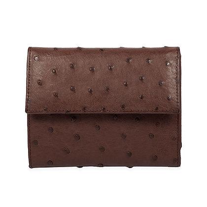 Kulu - Womans Genuine Ostrich Wallet