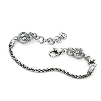Brighton - Infinity Sparkle Slide Bracelet