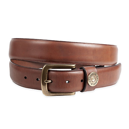 Torino -Burnished Harness Leather Belt