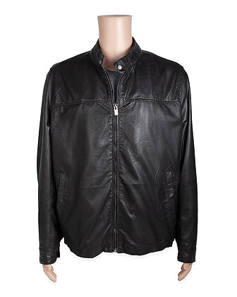 Missani - Perforated Lambskin Zip Front