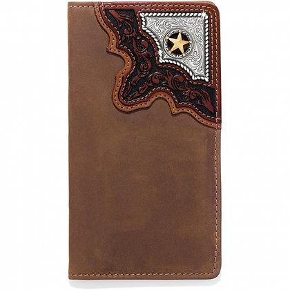 Brighton - Cowboy Way Checkbook Wallet