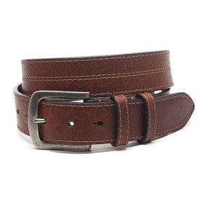 Torino Leather - Waxed Shrunken Bison Leather Belt