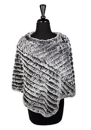 Chosen Furs - Knitted Rex Poncho