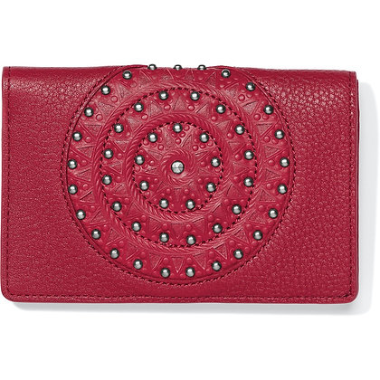 Brighton - Ferrara Eternity Medium Folio Wallet Red