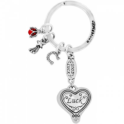 Brighton - Lucky Clover Heart Key Fob