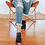 Thumbnail: Miz Mooz - The Feat Zip Sandal with Vamp Detail