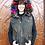 Thumbnail: Belle Fare - Cotton Vest with Fox and Rex Fur Trim