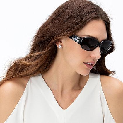Brighton - Crystal Voyage Sunglasses Black