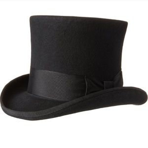 Dorfman - Mad Hatter Felt Top Hat