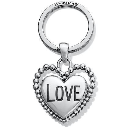 Brighton - Beaded Love Key Fob