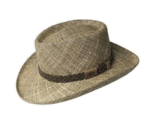 Bailey Hats - The Melton Seagrass Gambler