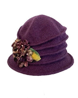 Toucan Hats - Autumn Wool Cloche