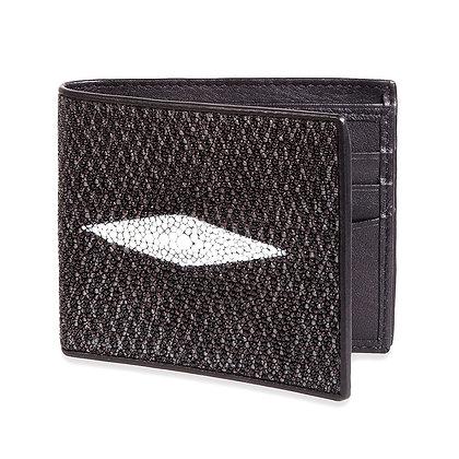Makai - Genuine Stingray Wallet 1 Oval Diamond