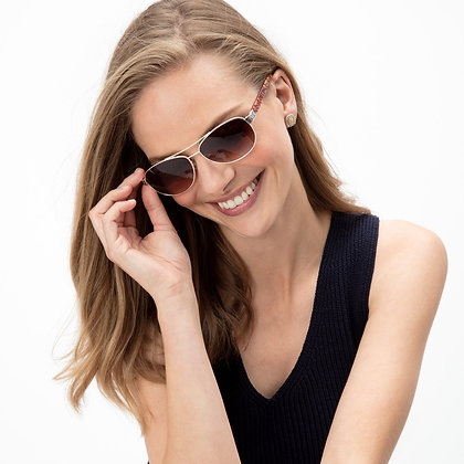 Brighton - Sugar Shack Sunglasses Leopard