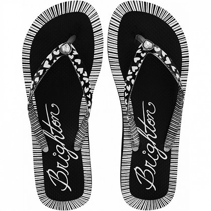 Brighton - Artsy Flip Flops