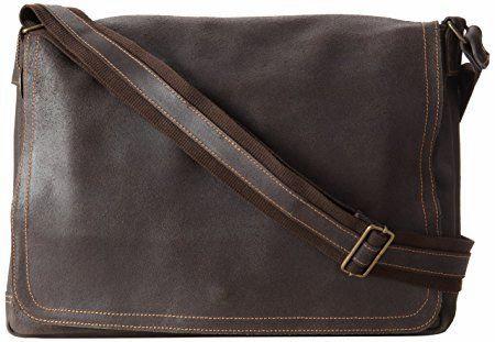 David King - Distressed Large Messenger Bag