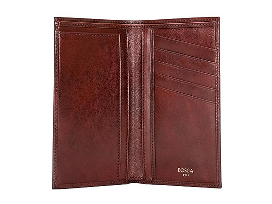 Bosca - Men's Coat Pocket Wallet in Old Leather