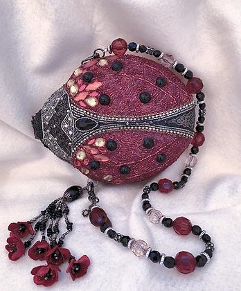 Mary Frances Ladybug Purse