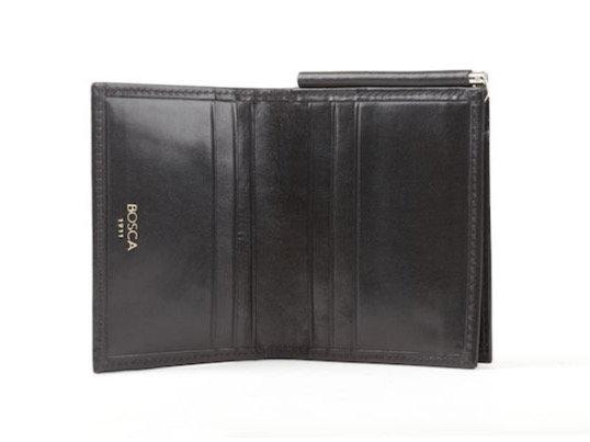 Bosca - Italian Leather Money Clip with Pocket