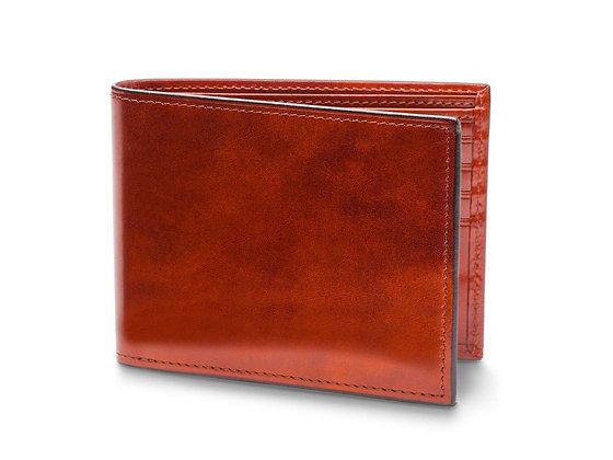 Bosca - Men's Bifold Wallet with Card ID Flap in Old Leather