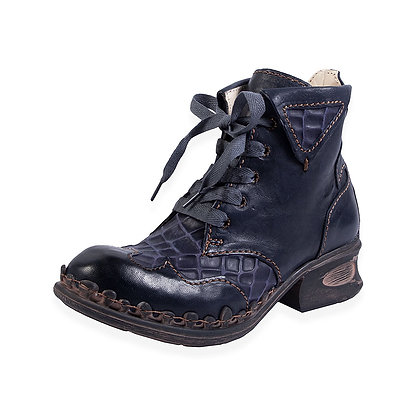 Rovers - 5 eye Lace up Low Heel