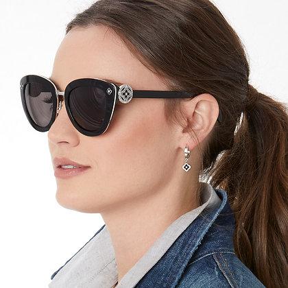Brighton - Toledo Noir Sunglasses