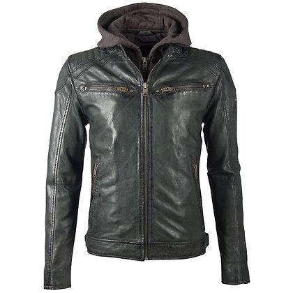 Mauritius - Vinn Men's Double Zip Hooded Jacket