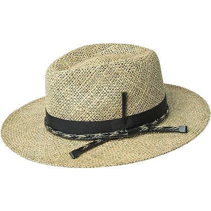 Bailey Hats - The Verrett Seagrass Flat Brim