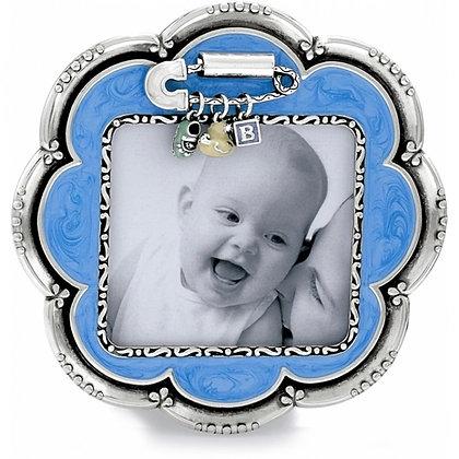Brighton - Baby Love Blue Flower Frame