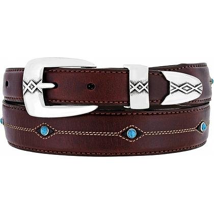 Brighton - Cody Turquoise Taper Belt