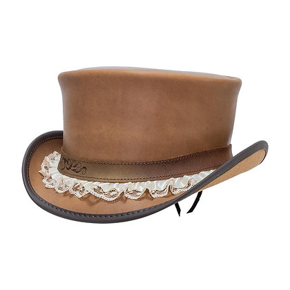 American Hat Makers - The Marlow In Pecan with Garter Band
