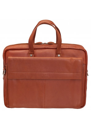 Mancini - Slim Briefcase for Laptop and Tablet